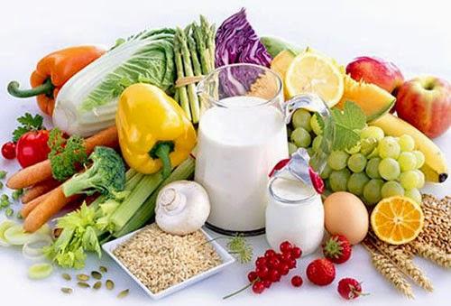 Thực phẩm dinh dưỡng tốt cho người cao tuổi là những thực phẩm có đủ vitamin và chất xơ