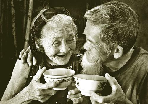 Đơn giản nhưng sâu sắc đó là thứ tình yêu tuổi già