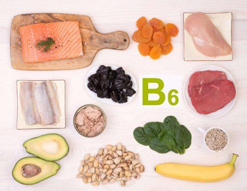 Vitamin B6 có nhiều trong một số loại thực phẩm