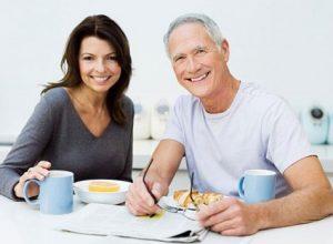 Chế độ dinh dưỡng ảnh hướng rất lớn đến sức khỏe người cao tuổi
