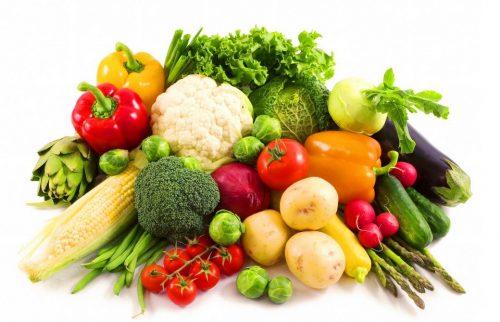 Người già nên thiên về sử dụng các thực phẩm xanh