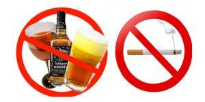 Bệnh nhân bị lao phổi nên kiêng rượu bìa và thuốc lá