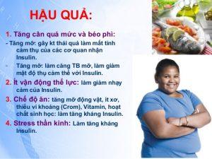 Tác hại béo phì ở trẻ