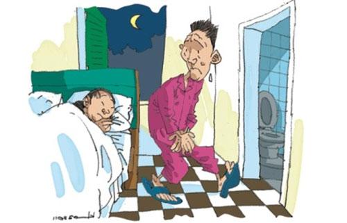 Vì sao đàn ông cao tuổi bị chứng tiểu đêm?