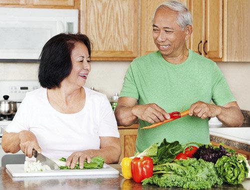 Dinh dưỡng không hợp lý lànguyên nhân gây ra bệnh thận ở người cao tuổi