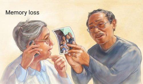 Mất trí nhớ là bệnh gặp phổ biến ở người già