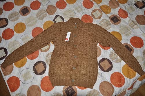Áo len là món quà hoàn hảo cho người già khi Đông đến