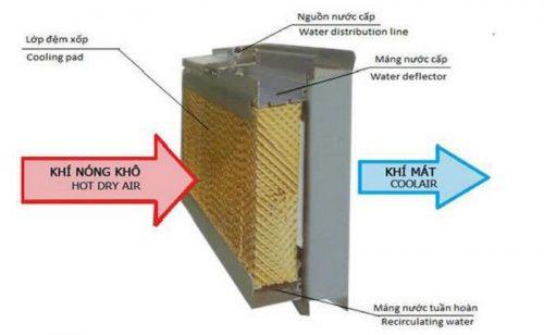Nguyên lý hoạt động của quạt hơi nước