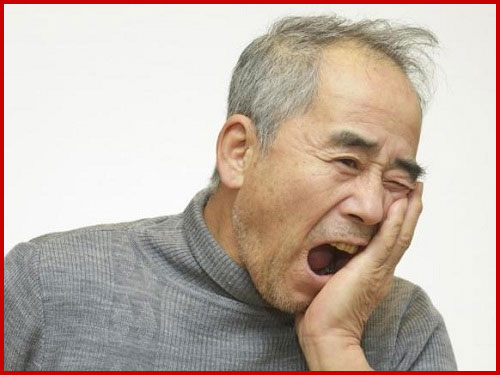 Bệnh sâu răng là căn bệnh người cao tuổi hay mắc phải