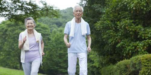 Tập thể dục có thể giúp người già chống chịu được nhiều bệnh tật