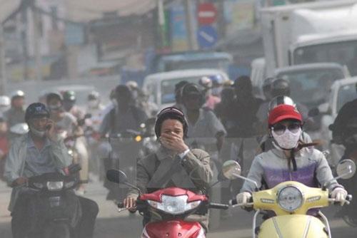 Bảo vệ cơ thể trước không khí ô nhiễm