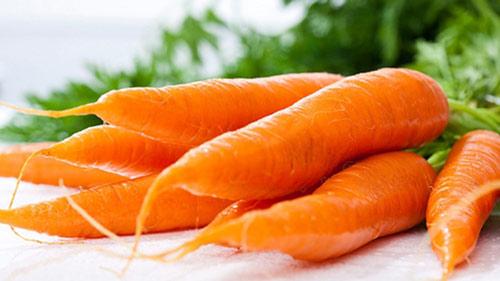 Cà rốt rất tốt cho người máu nhiễm mỡ